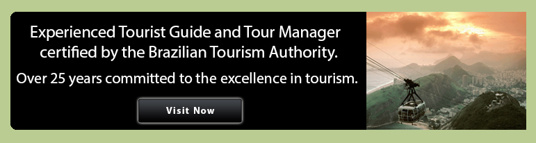 Experienced Tour Guide and Tour Director certified by the Brazilian Tourism Authority